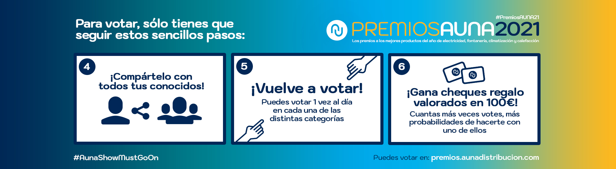 Premios Auna Pasos 2